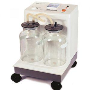 دستگاه ساکشن خانگی دو شیشه